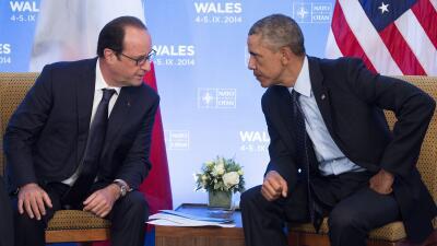 Obama y Hollande prometen acciones conjuntas contra ISIS