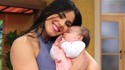 Vanessa de Roide hizo suspirar a todas las reinas de Nuestra Belleza Latina con su bebita Penélope