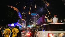 Los Angeles Lakers se coronan campeones de la NBA 2020: las calles de la ciudad se tiñen de púrpura y oro