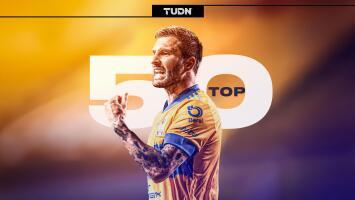 ¡50 veces Gignac! André-Pierre ya está en el Top 50 de Liga MX