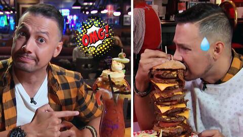 ¿Estas son bebidas o comidas? Luis Sandoval probó los platillos más exagerados de Las Vegas