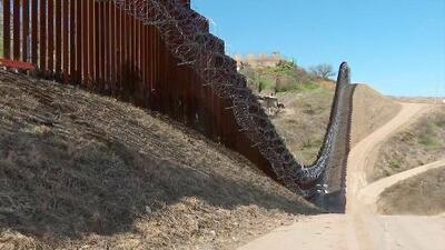 Las preocupaciones en Nogales por el alambre de púas en el muro fronterizo