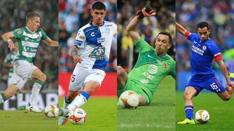 ¡De lujo! El 11 ideal de la Liga MX del Apertura 2018