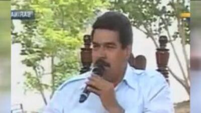 """Maduro dice que el """"pajarito"""" se apareció y le dijo: Chávez """"está feliz"""""""