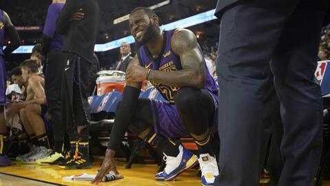 """""""Esquivé una bala"""": LeBron James recibe diagnóstico favorable de su lesión en la ingle"""