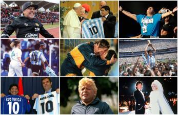 Diego Maradona celebra sus 58 años: revive su vida en 58 postales para la nostalgia