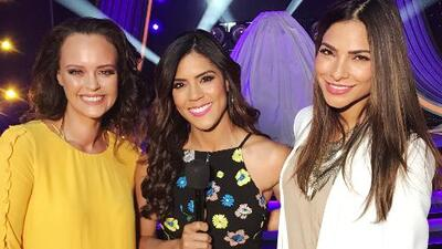 Dos bellezas coronarán hoy a 'La Reina de la Canción': Shaila Dúrcal y Alejandra Espinoza