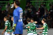 Sporting se afianza en el liderato gracias a goles de Bryan Ruiz y Montero ante Académica