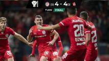 Atlas sufre la 'pena máxima' ante Toluca en la Copa MX