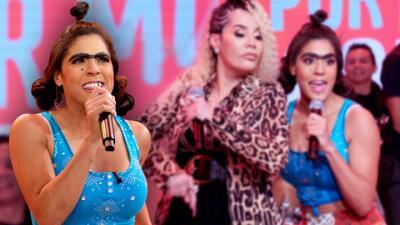 Emocionada, nerviosa y más explosiva que nunca: Mela la Melaza debutó como cantante de la mano de Ivy Queen