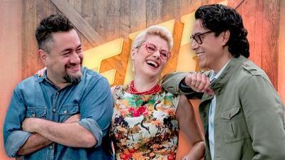¿Por qué un reality show de cocina? Los chefs de Familias Frente al Fuego responden