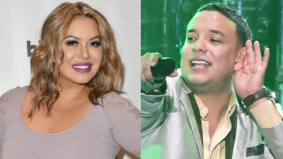 """Eres el limón para mi sopa"", la tierna foto de Chiquis Rivera con Lorenzo Méndez"