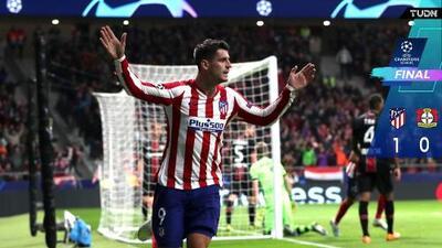 Con Herrera todo el partido, Atlético venció al Leverkusen