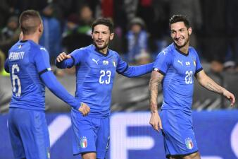 En fotos: ¡Mamma mia! Italia prolongó la mala racha del Team USA en amistosos