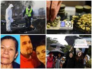 En imágenes: Mortal explosión, marihuana gratis y desapariciones.