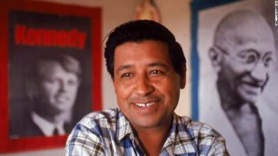 De amenaza nacional a héroe hispano: así espió el FBI durante 8 años a César Chávez