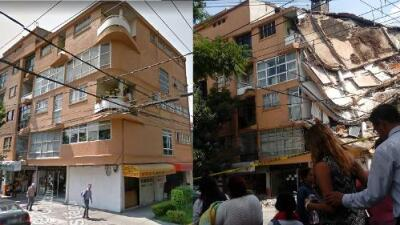 These are the buildings that collapsed in the Mexico City earthquake (with before and after images)