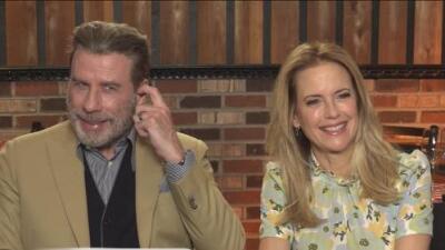 Entrevista con John Travolta y Kelly Preston sobre su nueva película Gotti