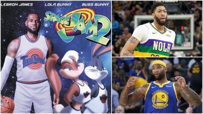 ¿Qué estrellas de la NBA acompañarían a LeBron James en Space Jam 2?