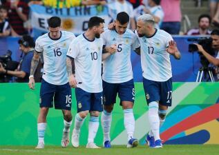 En fotos: Argentina clasificó a la Semifinal de Copa América tras eliminar a Venezuela