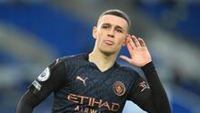 Foden, el jugador con mayor valor estimado de transferencia según estudio
