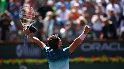 Thiem vence a Raonic y jugará contra Federer en final de Indian Wells