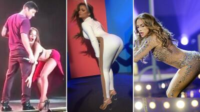 Ella es la bailarina que lleva 'seduciendo' cuatro años a Ricky Martin al estilo Clarissa y JLO