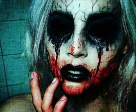 Con este fantasmal 'make up' no dormirás