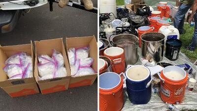 Operación antidrogas termina con hispanos detenidos y decenas de kilos de droga confiscada en Georgia