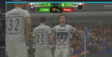 González da triunfo agónico a Pumas sobre Cruz Azul en la eLiga MX