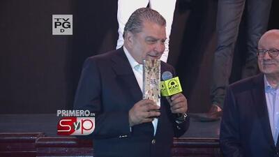 Don Francisco recibió un reconocimiento del Festival Internacional de Cine