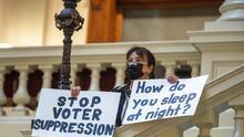 Georgia aprueba un proyecto de ley que restringe el voto y da más control electoral a la Cámara estatal, en manos de republicanos