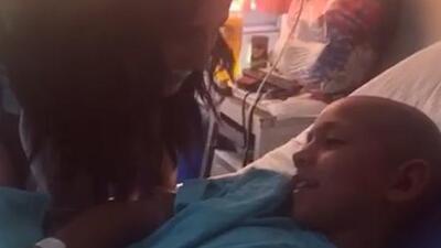 """""""Después de que saliera de la operación no hablaba"""" pero cuando llegó 'Rosario Tijeras' la historia cambió"""