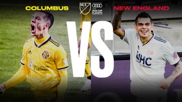 Columbus y New England se preparan para la Final del Este