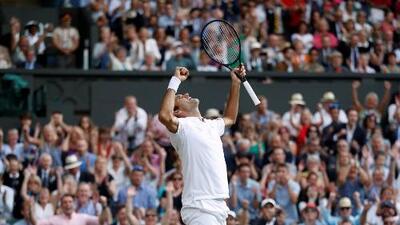 En intenso duelo, Federer superó a Nadal y avanzó a la Final de Wimbledon