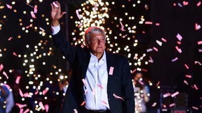 López Obrador: el candidato que (ganando) no sonríe