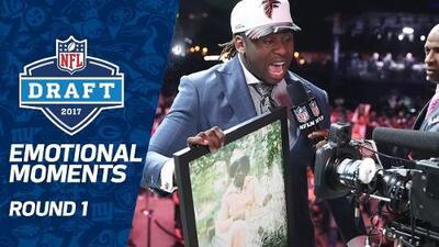 NFL Draft 2017 | Los momentos más emotivos de la 1ª Ronda