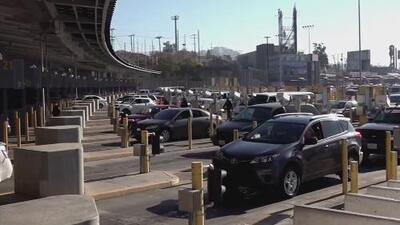 Así es la pesadilla que viven los residentes de la frontera entre Tijuana y San Diego por la caravana de migrantes