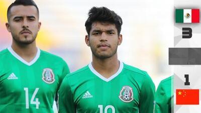 México derrota a China y se clasifica a las semifinales del Torneo Esperanzas de Toulon