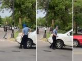 Investigan a policía que baleó a Anthony Álvarez tras amenazar con un arma de fuego en accidente vehicular