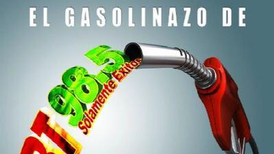 ¡Ya está aquí el 'gasolinazo' de KGBT 98.5!