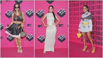 Las celebridades que brillaron (y las que no) por sus vestidos en los MTV MIAW 2018