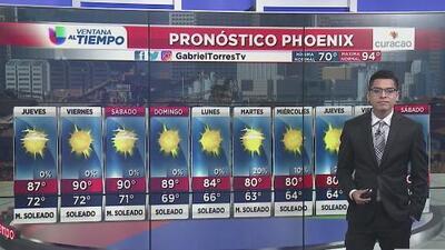 Riesgo de tiempo severo al norte de Arizona