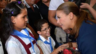 Olga Tañón comparte sus vivencias en Cuba