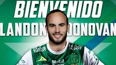 Landon Donovan vuelve del retiro y jugará con León