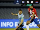 El VAR evita el triunfo de Uruguay sobre Paraguay rumbo a Catar 2022