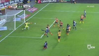 Rayados saca 'in extremis' la victoria 3-2 ante Morelia
