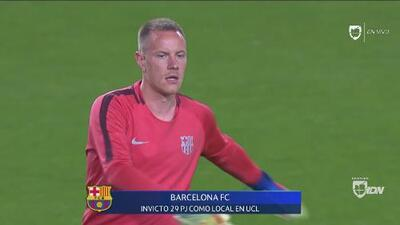 El 'Messi' del arco ya caliente: la activación de Marc-André ter Stegen en el Camp Nou