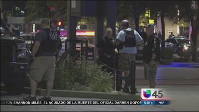 Policía de Dallas continúa investigaciones tras tiroteo