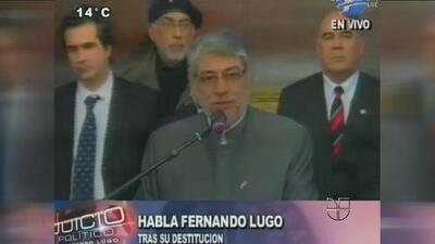 Congreso de Paraguay aprobó destitución de Fernando Lugo